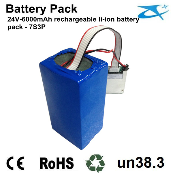 24V Battery Pak for stage light